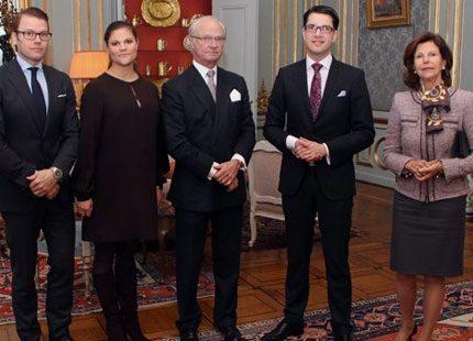 dbe4308639f4 Kungaparet gav lunch för Jimmie Åkesson | Svensk Damtidning