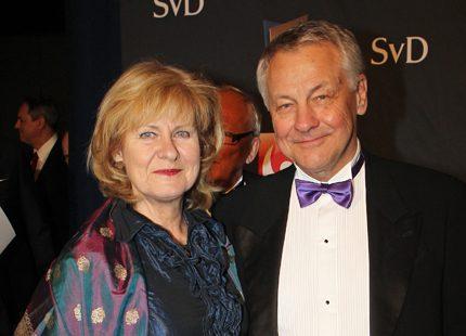 Bengt Westerberg visade upp sin nya kärlek