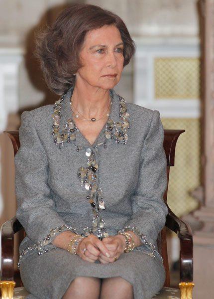 Drottning Sofia tvingades nödlanda i helikopterdrama