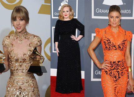 Stort vimmel från nattens Grammy-gala