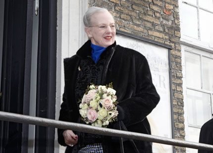 Drottning Margrethe öppnade pärlutställning