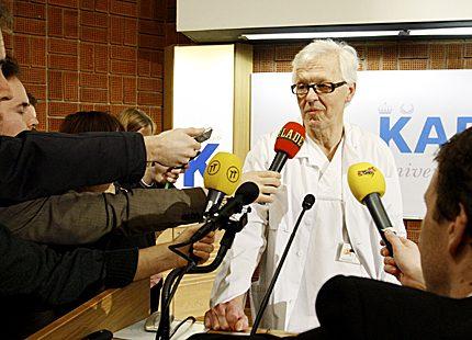 Förlossningsläkaren Lennart Nordström: Skönt att känna dem så väl!