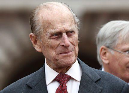 Prins Philip har fått en rejäl blåtira