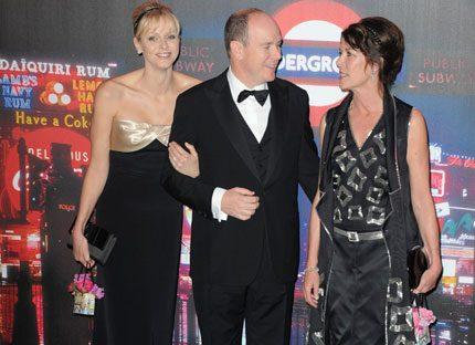 Charlene och Albert rockade loss på Rosornas bal