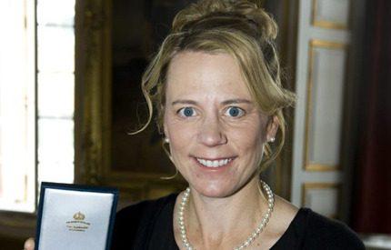 Annika Sörenstam fick medalj av kungen