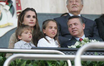 Kung Abdullah av Jordanien firar 10 år som kung