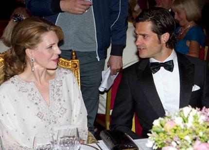 Kunglig glans när Marianne Bernadotte bjöd till jubileum