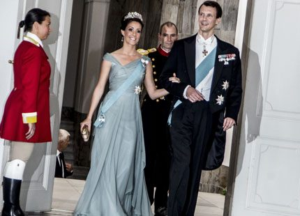 Prinsessan Marie på årets första kungliga gala