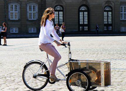 Kronprinsessan Mary På Cykeltur I Stan Svensk Damtidning
