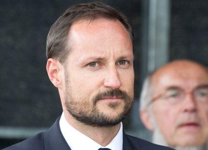 Kronprins Haakons lilla miljöblunder...