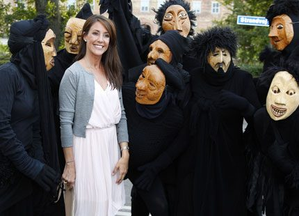 Prinsessan Marie tillbaka i Danmark - för att dela ut pris till kvinnor
