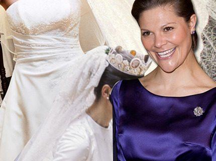 Så ska Victorias bröllopsklänning se ut!