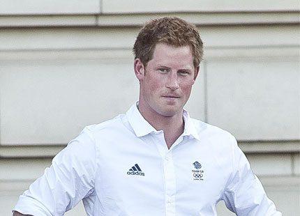 Brittisk prins i blasvader