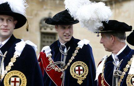 Prins William glänste under traditionell ceremoni