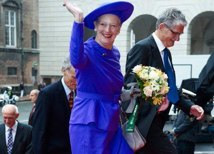 Margrethe bjöd på ny galamiddag i Danmark