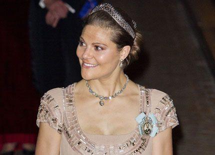 Kronprinsessparet på galamiddag