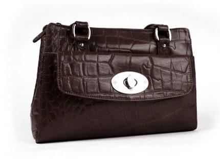Sista chansen att köpa denna skinnväska i vår webbshop!