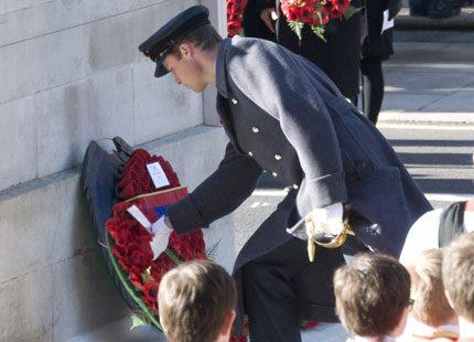 Prins William på snabbvisit i Afghanistan