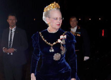 Danska kungligheter på nyårsgala