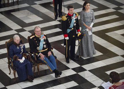Ny fest på slottet för drottning Margrethe
