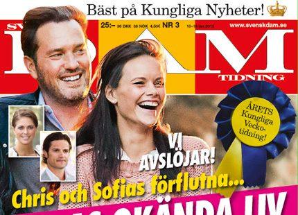 8b20c2f4ffc9 Nytt nummer ute nu – Chris och Sofias okända liv… | Svensk Damtidning