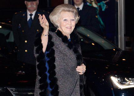 Drottning Beatrix firades med stor folkfest
