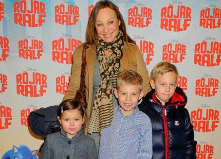 Kändisarna och deras barn vimlade på Röjar-Ralf
