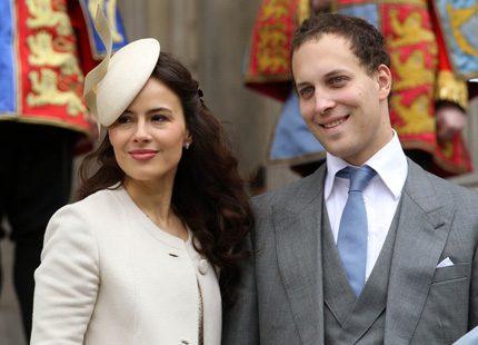 Prinsparet Michael av Kent får snart det första barnbarnet
