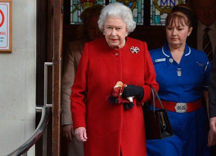 Drottning Elizabeth talade om religion och sport