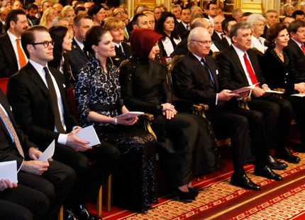 Turkisk konsert med kungafamiljen