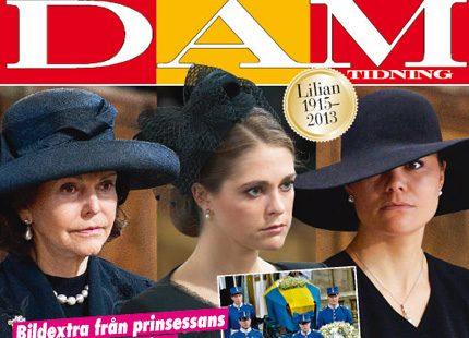 Nytt nummer ute nu: Stort bildextra från Lilians begravning
