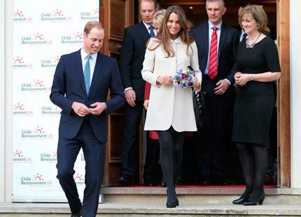 Prins William berättar om sin nya roll som pappa