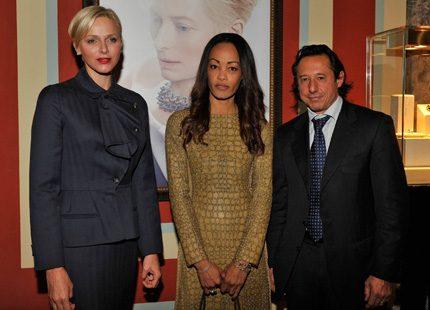 Charlene samlade in pengar till barn i Monaco