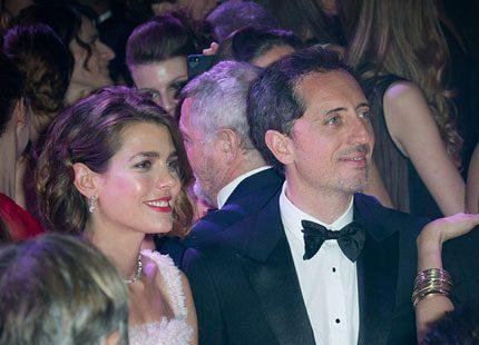Charlotte tog med sin älskling till Rosornas bal