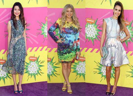 Färgglatt vimmel från Nickelodeons Awards