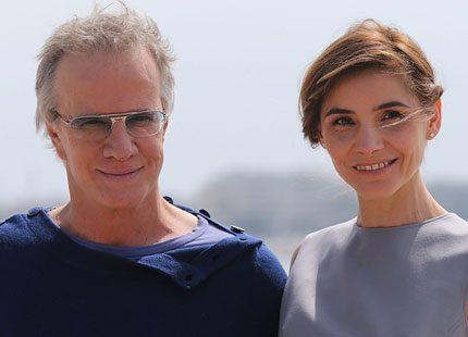 Clotilde är i Cannes med Christopher Lambert