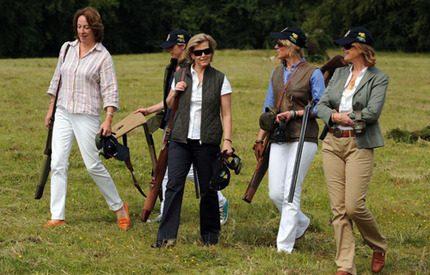 Sophie av Wessex skjuter skarpt...