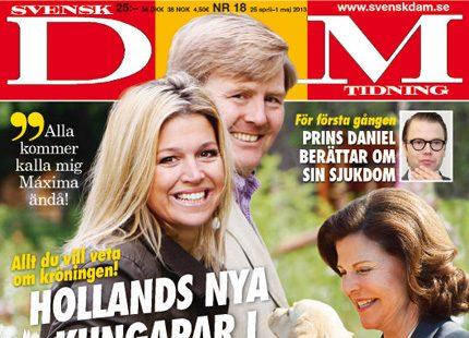 Nytt nummer ute nu - Hollands nya kungapar i stor intervju