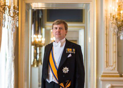 De officiella bilderna på nya kungaparet