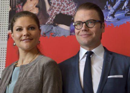Victoria och Daniel besökte Göteborg