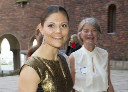 Victoria på Enskilda Gymnasiets 100-årsjubileum