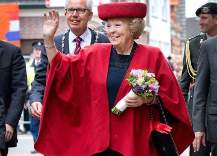 Prinsessan Beatrix invigde utställning