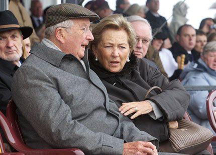 Kung Albert och Paola har varit på festival