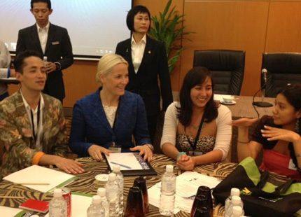 Mette-Marit besöker Malaysia - så även Mary