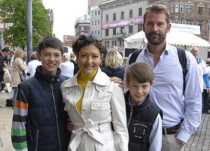 Alexandra, Martin och prinsarna i Köpenhamn