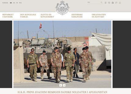 Prins Joachim har besökt Afghanistan