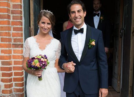 Fint sommarbröllop på Vimmelprinsessans blogg