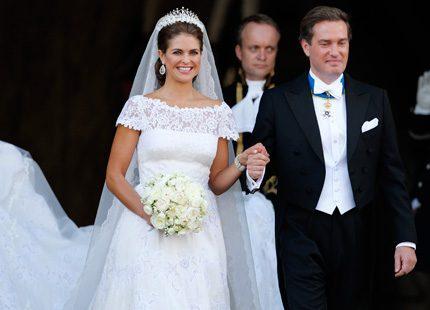 Allt om brudens klädsel - det här bar Madeleine