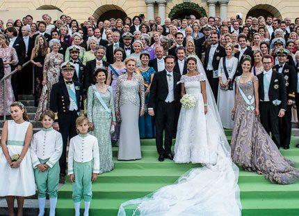 Europas kungligheter är en enda stor familj
