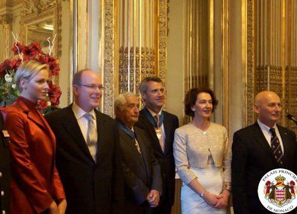 Ny film med furst Albert och Charlene i Paris